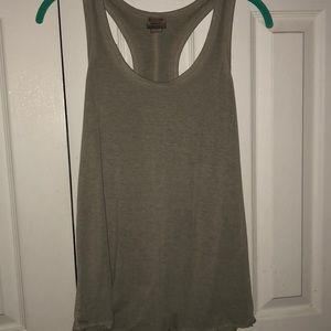 Tops - Green and purple tanks